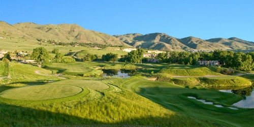 Fossil Trace Golf Club Colorado golf packages